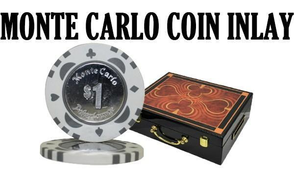 Monte Carlo Coin Inlay