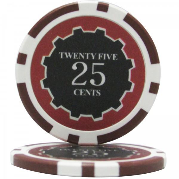 100pcs Eclipse Poker Chips $100