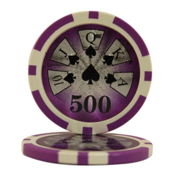 High Roller Laser $500 Roll of 25