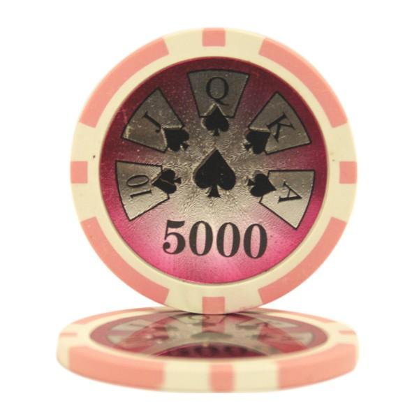 High Roller Laser $5000 Roll of 25