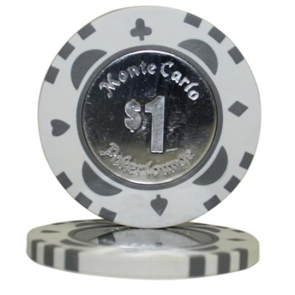 Monte Carlo Coin Inlay $1 Roll of 25