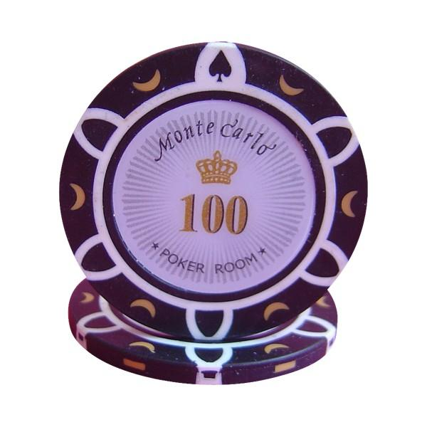 Monte Carlo Poker Room $100 Roll of 25
