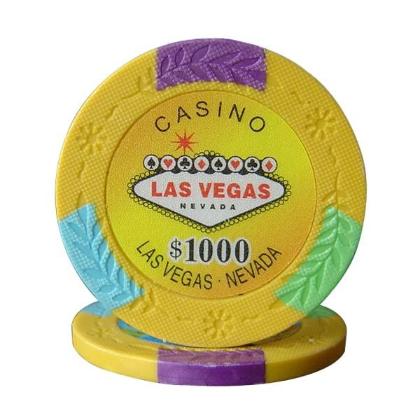 Four Tone Vegas $1000 Roll of 25