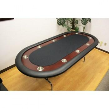 10 Player 92 Folding Legs Poker Table_4