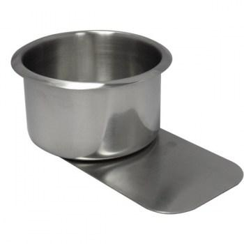 10PCS STAINLESS STEEL POKER TABLE SLIDE UNDER CUP HOLDER JUMBO SIZE_1