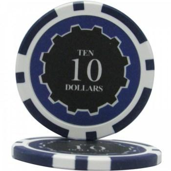 25 Eclipse $10 POKER CHIPS