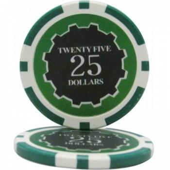 25 Eclipse $25 POKER CHIPS