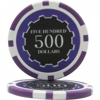 25 Eclipse $500 POKER CHIPS