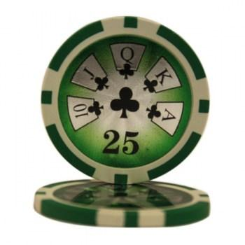 25 HIGH ROLLER $25 POKER CHIPS