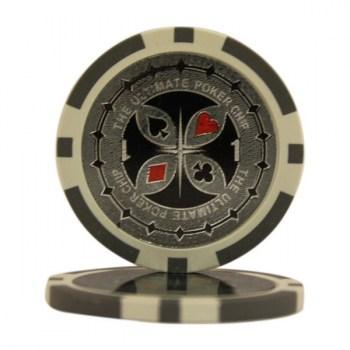 25 ULTIMATE $1 POKER CHIPS