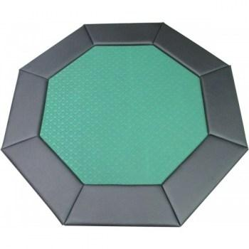 48 Octagon Poker Table Top Green-1