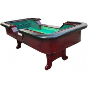 98 Standard Craps Table with Chip Rail Arm Rest_1
