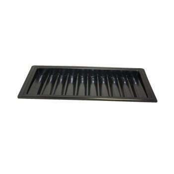 ABS Black Poker Chip Tray (10 Row  500 Chip)