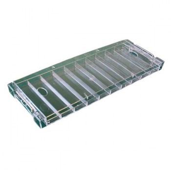 ACRYLIC POKER CHIP CARRIER (500 CAPACITY)