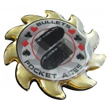 Bullets Pocket Aces