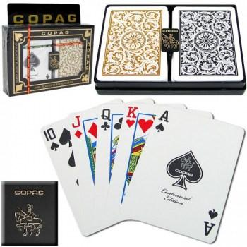 Copag 1546 Poker Size GoldBlack Regular Index_1