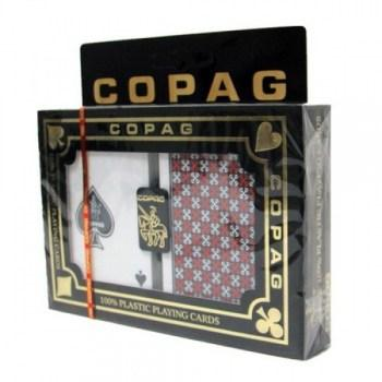 Copag Master Design Poker Size RedBlack Regular Index_1
