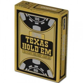 Copag Texas Hold'em Poker Size Black Jumbo Index_3