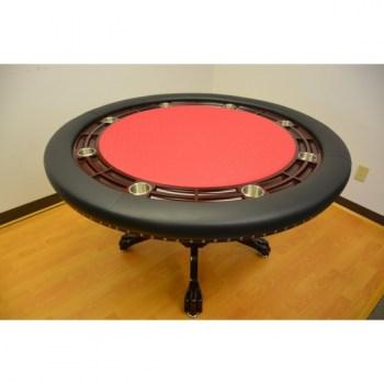 MYSTIC POKER TABLE DARK BROWN_1