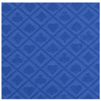 Suited Speed Poker Table Cloth Waterproof (Blue)1